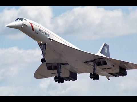 Concorde visiting Barton Aerodrome Airshow Manchester 1988