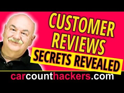 Get More Reviews – Secret to Getting Customer Reviews – Auto Service Marketing