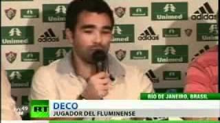 Deco fue presentado oficialmente como nuevo jugador del Fluminense