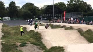 BMX Platt Fields July 2014 Novice Final Phil Tanner 1st place