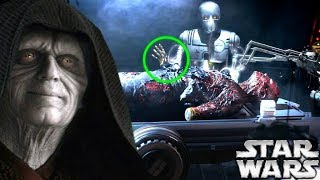 Why Palpatine Ordered Vader To Be Kept Awake During Surgery - Star Wars Explained