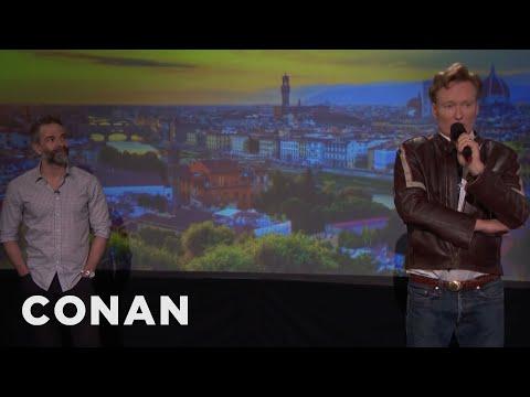Q&A: Conan Wants To Take Jordan To Long Island  - CONAN on TBS