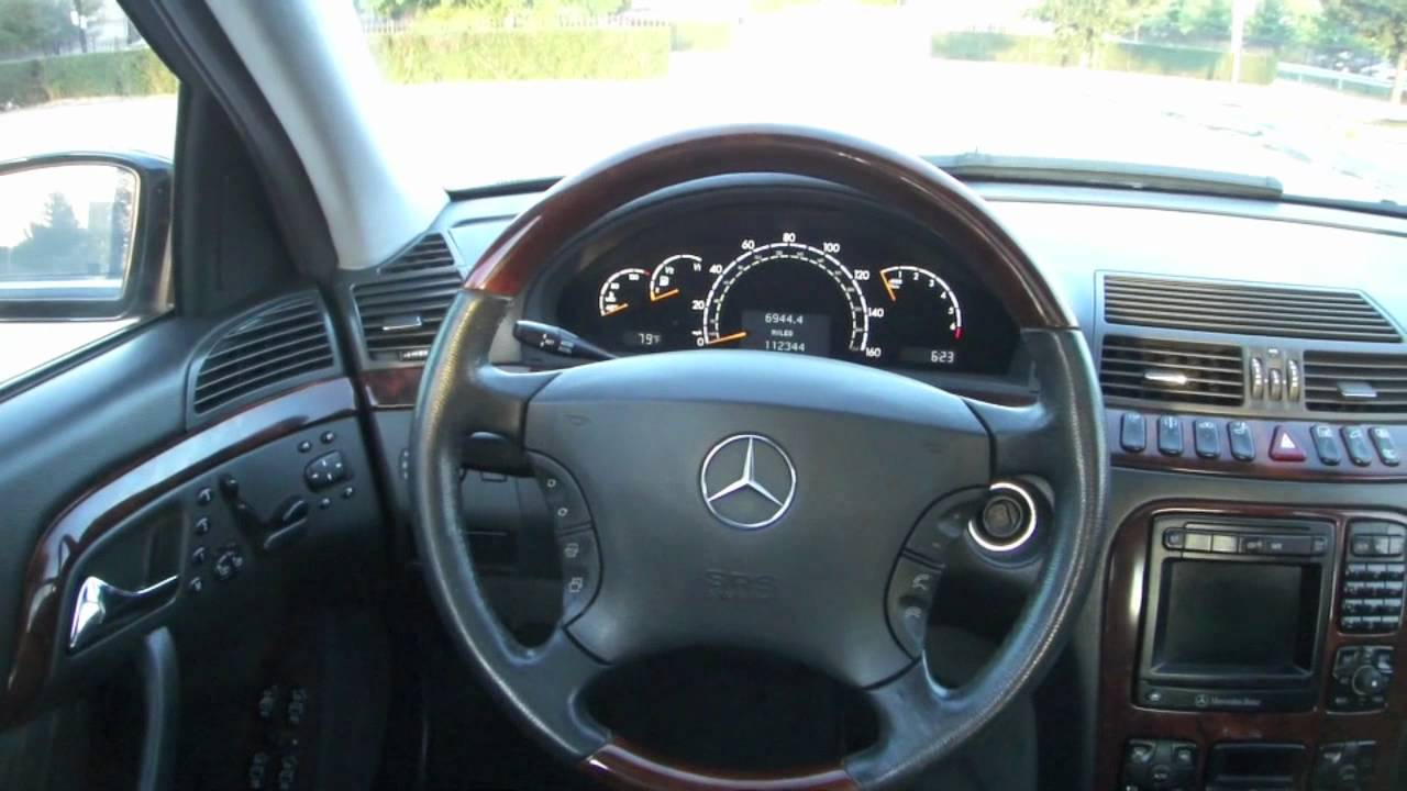 2002 mercedes benz s500 youtube. Black Bedroom Furniture Sets. Home Design Ideas