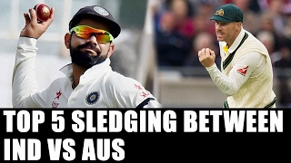 India Vs Australia :  Top 5 Sledging incidents between both teams | Oneindia News