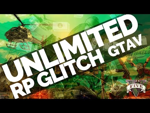GTA 5 Online UNLIMITED RP GLITCH