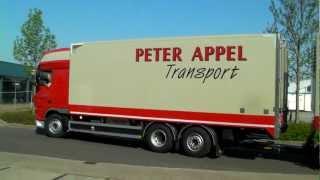LZV Peter Appel Transport DAF XF105 aandocken