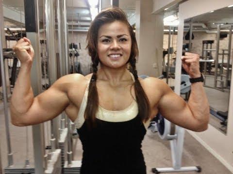 Sophie Arvebrink / Female Bodybuilding Motivation / Supergirl