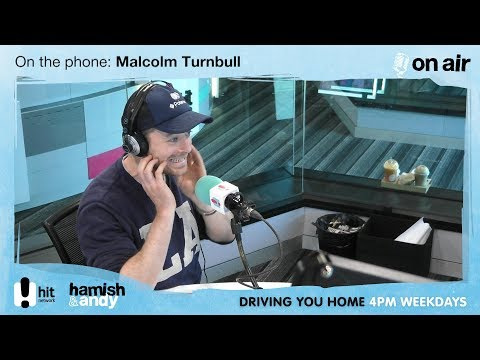 The PM has a word with Hamish