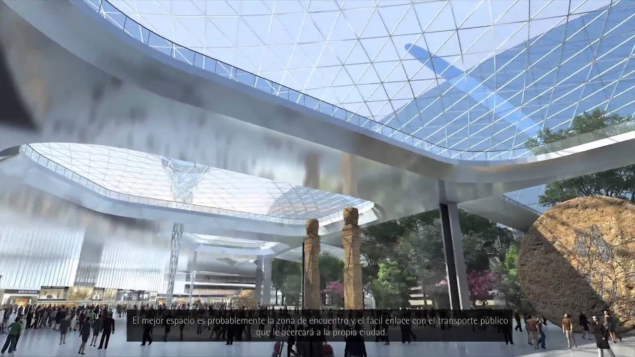 Gacs2014 mexico city international airport project youtube for Puerta 6 aeropuerto ciudad mexico