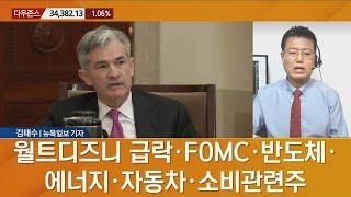 [뉴욕 증시 마감 현황] 월트디즈니 급락·FOMC·반도…