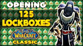 Classic WoW - Opening 125 Lootboxes