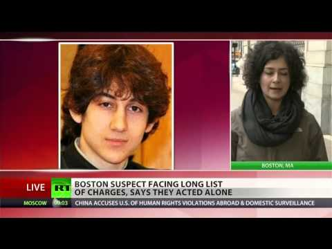 Boston bombing suspect claims US wars in Iraq and Afghanistan  as reason for attacks