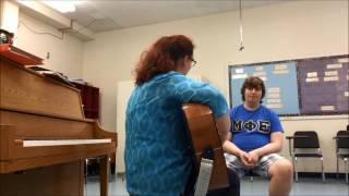 Mock Music Therapy Session for Older Adults