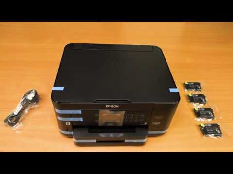How to set-up the Epson XP-5105 printer.