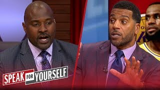 Jim Jackson discusses if LeBron\'s power will affect Lakers\' FA strategy | NBA | SPEAK FOR YOURSELF