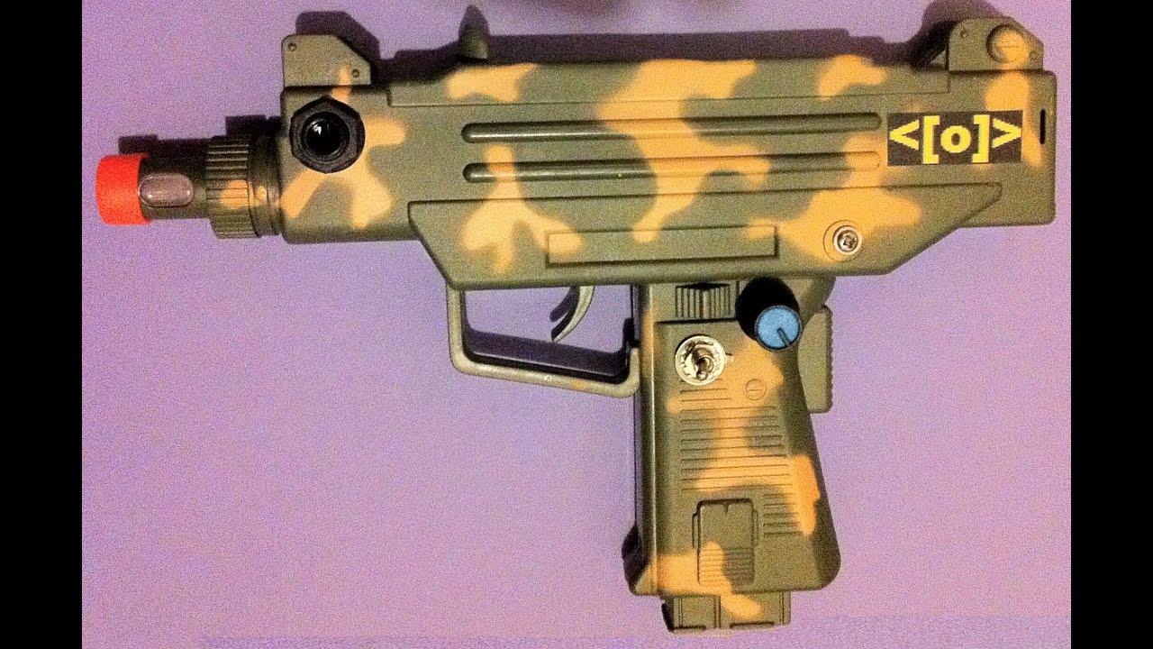 Circuit Bent Toy Uzi Gun By Psychiceyeclix On Etsy