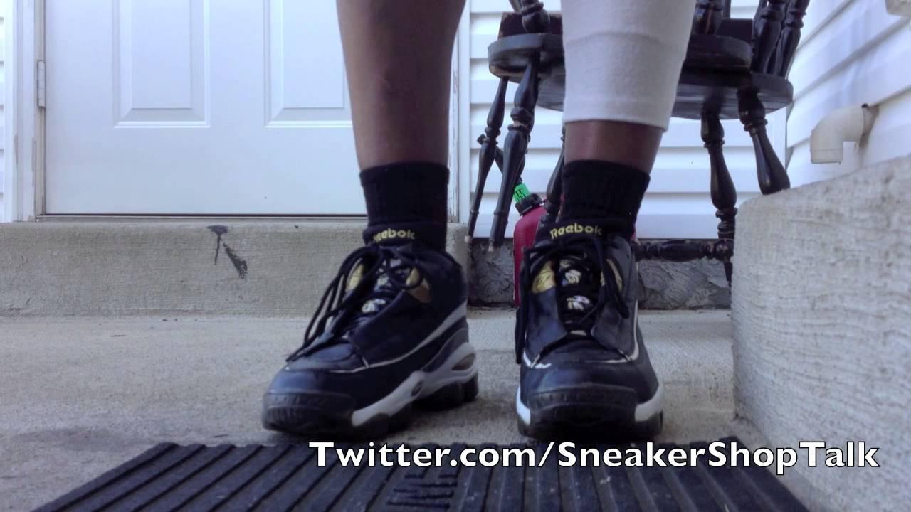 On My Feet 10th Anniversary Reebok Answer 10 DMX - YouTube