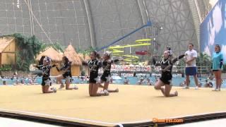 Cheerleading: Divas' Fab Five from Denmark at Beach Cup 2010