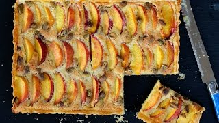 Dessert Recipe: Peach Tart By Cookingforbimbos.com