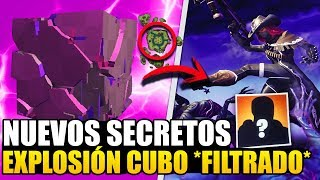NEW SECRETS *FILTRATE CUBE EXPLOSION EVENT* GAME PARTY *MYSTERIES* FORTNITE BR