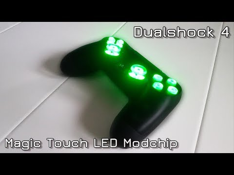 How to install Dualshock 4 Magic Touch LED Modchip