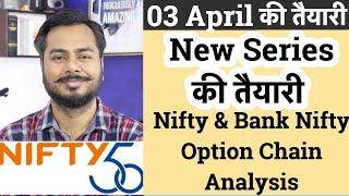 New Series की तैयारी !!! Nifty & Bank Nifty Option Chain Analysis !!!