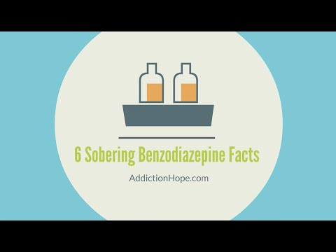 Facts You Should Know About Benzodiazepine Abuse