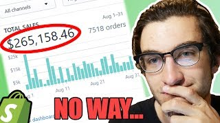 $265,158.46 IN ONE MONTH DROPSHIPPING?? (Scam Exposed)