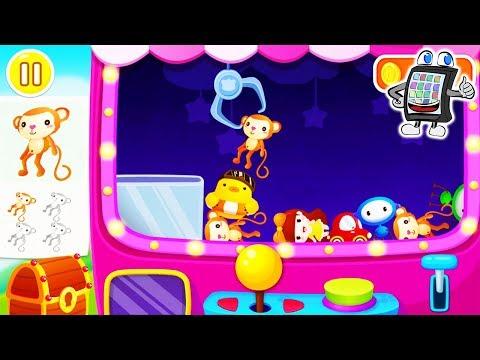 BABY PANDAS FREIZEITPARK Carnival - MIT GREIFAUTOMATEN & FISCHE FANGEN! Spiel mit mir Apps