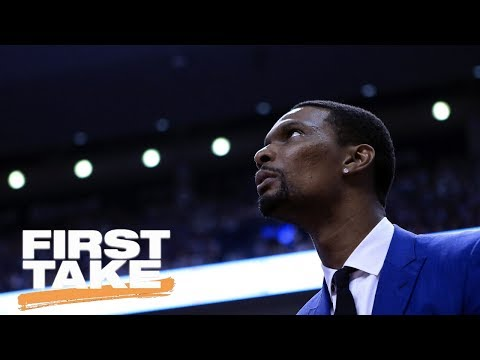 Would You Want Chris Bosh On Your Team Next Season? | First Take | May 24, 2017