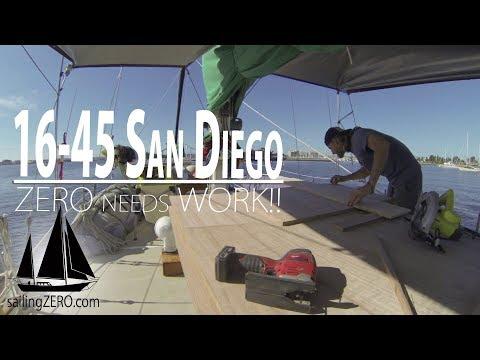 16-45_San Diego - ZERO needs WORK!! (sailingZERO)