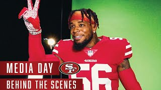 Behind the Scenes at the 49ers 2020 Media Day