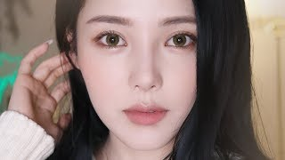 Calm Beige Makeup (With subs) 차분한 베이지 메이크업🍞