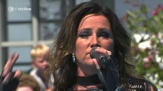 Jenny Berggren from Ace Of Base - All That She Whants - ZDF Fernsehgarten 12.08.2018
