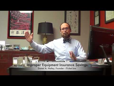 NC Insurance Savings Of An Improper Equipment Reduction