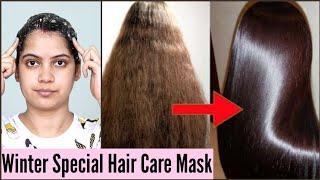 Winter Special Hair Care Mask No Hair Fall No Dandruff No Damaged Hair TipsToTop By Shalini