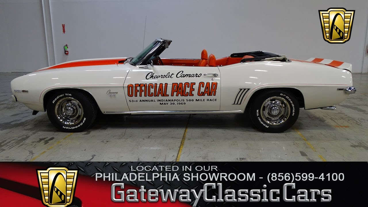 Chevrolet Camaro Ss Indy Pace Car Gateway Classic Cars