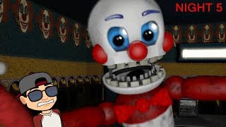 NOCHE 5 DE BENNY THE CLOWN CIRCUS WORLD: REMASTERED | NIGHT 5 | FNAF FAN GAME 2018