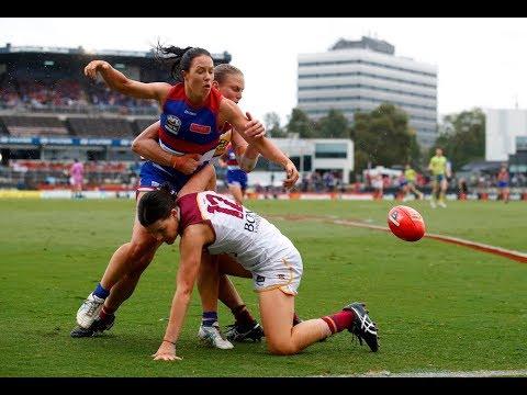 2018 AFLW Grand Final Highlights - Western Bulldogs v Brisbane