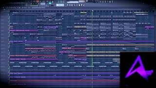 Скачать Aeris Valhalla Animadrop Remix FL Studio 12 Playthrough