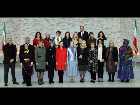 Discours de Maryam Radjavi - Journée internationale des Femmes – Albanie - Mars 2017