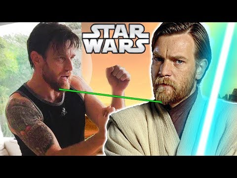 Ewan McGregor's NEW Beard Teased to Return as ObiWan??  Star Wars  Theory