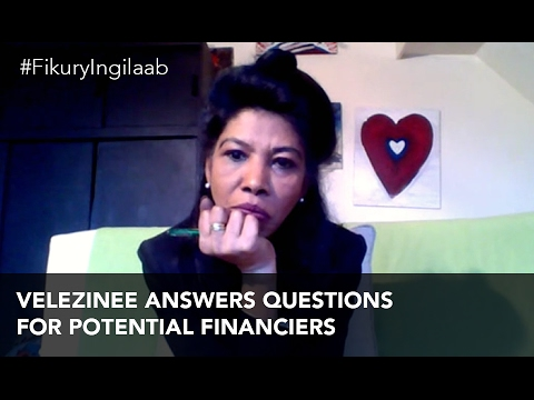 Velezinee answers questions for potential financiers (#FikuryIngilaab Ep. 32)