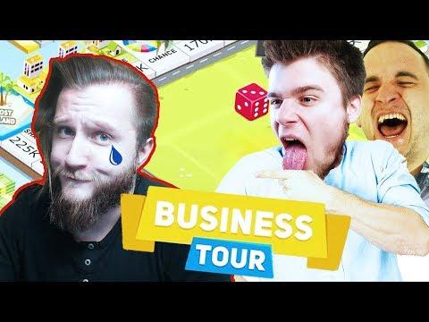 Z DIABEUU NIE GRAMY, BO GO NIE LUBIMY! | Business Tour [#14] (With: Plaga, Dobrodziej)