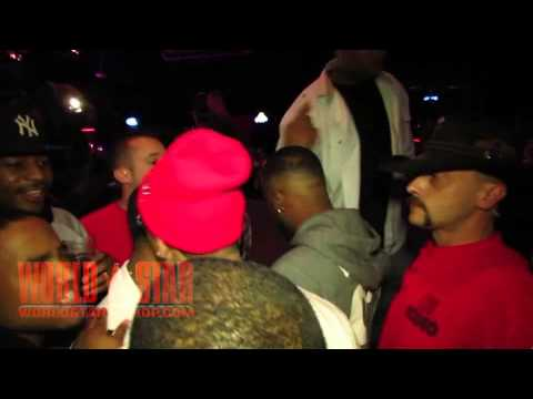 Kirko Bangz Fighting Some Dude At Club Concert In Wichita, KS
