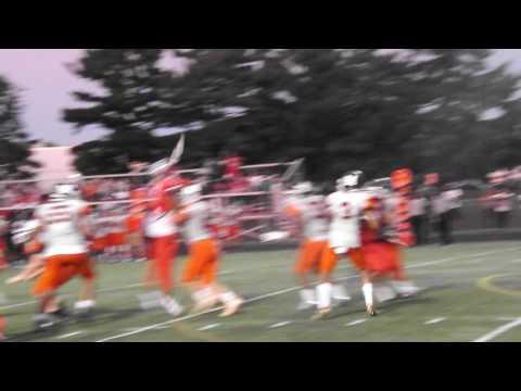 Ellis/Simmons 26-Yard Pass McDonogh at Franklin (Football) 9-2-16