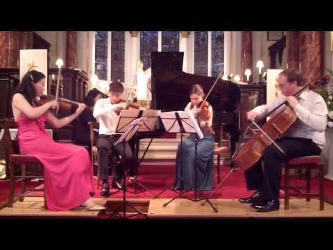 Elgar - Piano Quintet Op.84 in a minor 1st movement