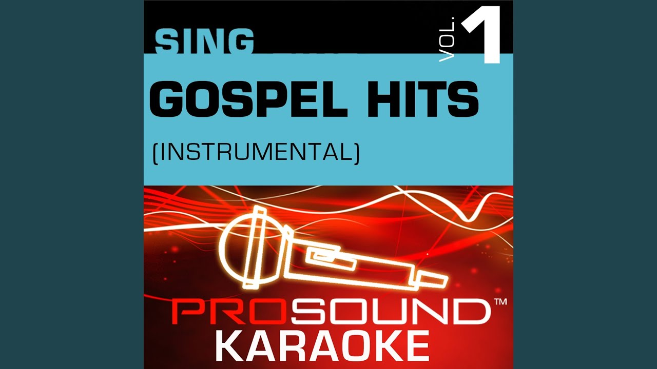The Old Rugged Cross Karaoke With Background Vocals In Style Of Gospel