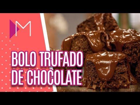 Bolo Trufado de Chocolate - Mulheres (13/08/18)