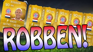 WTF ROBBEN!!! MY TOP 5 100K FINAL DAY FUTMAS PACKS - Fifa 15 Ultimate Team Pack Opening Thumbnail